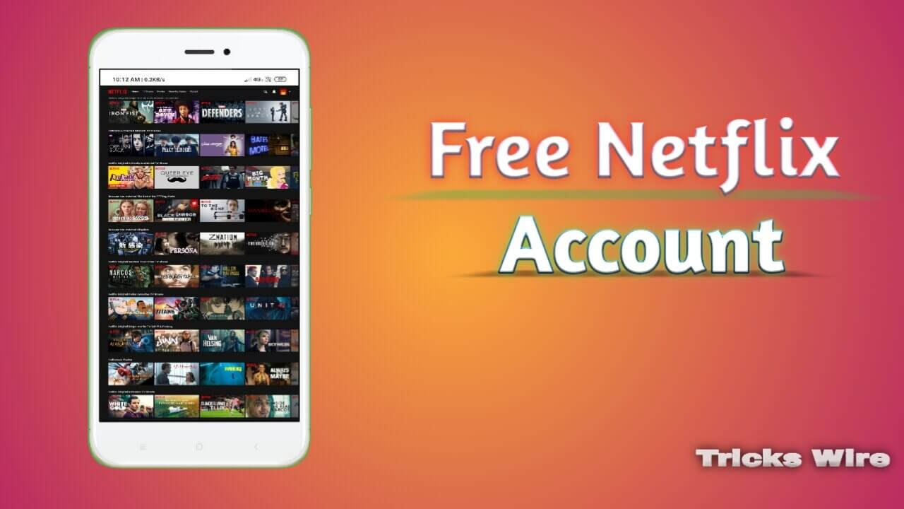 Working] FREE Netflix Accounts & Password (Daily 25+ Accounts)