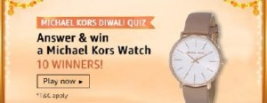 amazon michael kors diwali quiz answers