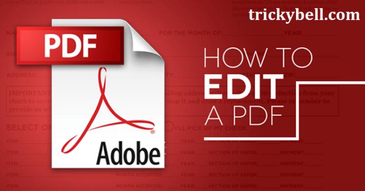 Edit PDF Files for Free