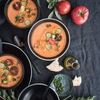 rezept für gazpacho andaluz - die mutter aller kalten sommersuppen