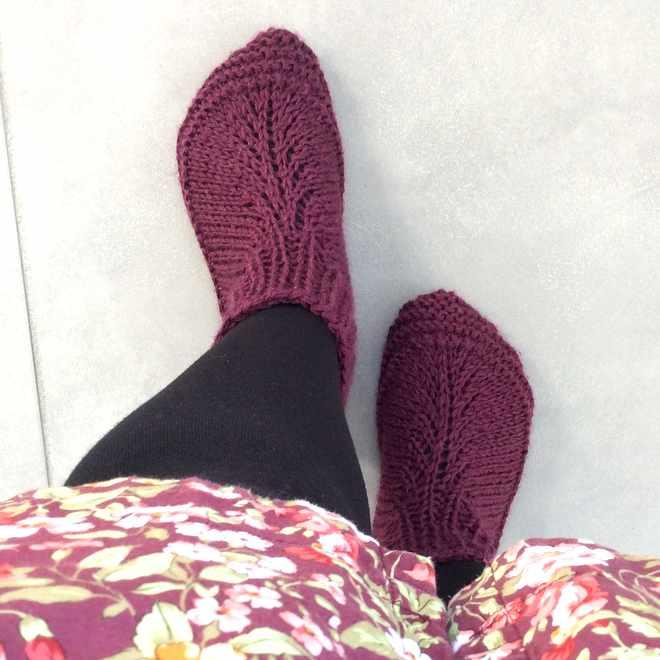 Nouvelle paire de chaussons