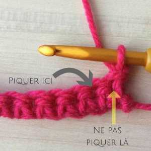 Comment faire une maille serrée au crochet ? (TUTO en photos)