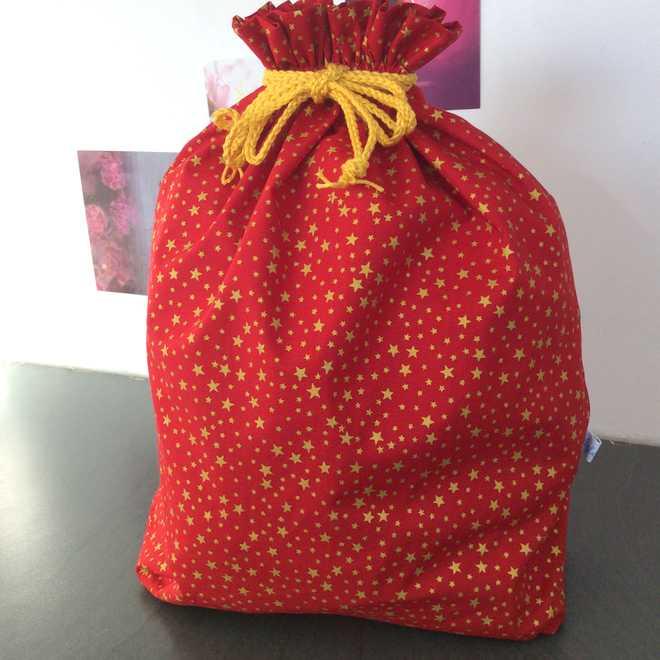 Pochon XL rouge emballez zéro déchet