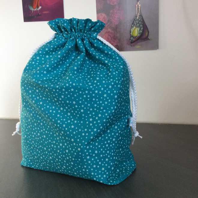 Pochon XL turquoise