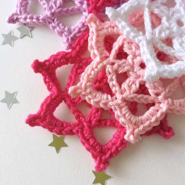 Flocons au crochet