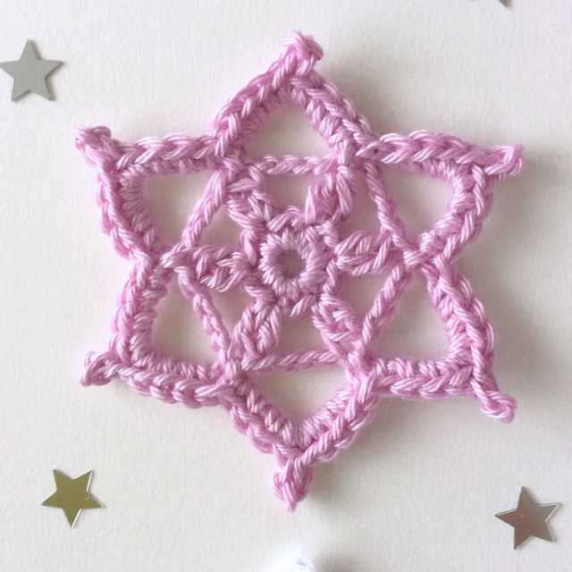 Flocon au crochet