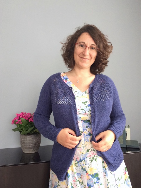Gilet tricoté à la main patron de tricot de Jane Richmond