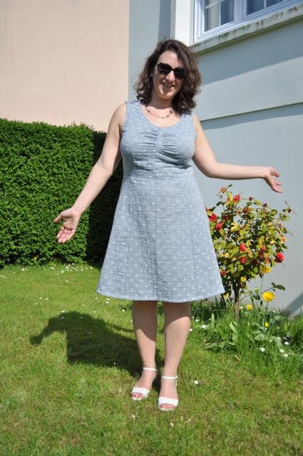 Sureau et Fuschite pour une robe sur mesure