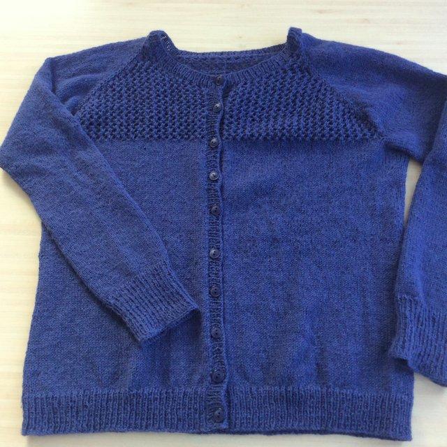 Modèle de gilet tricot en laine Jane Richmond