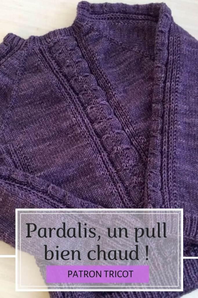 Pardalis - pull tricot femme, modèle à télécharger sur Ravelry