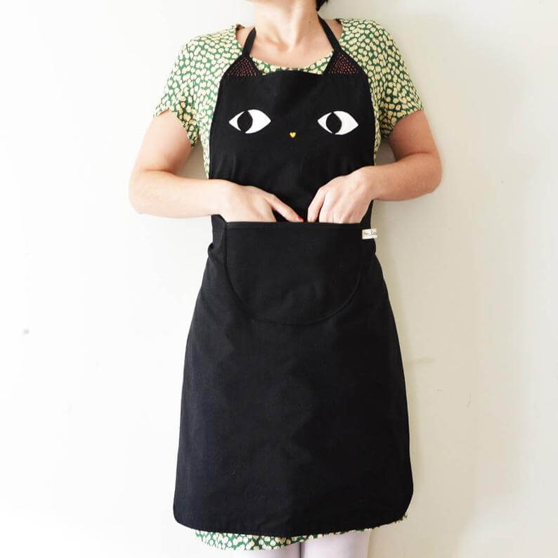 tablier chat etsy
