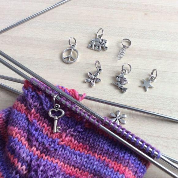 anneaux marqueurs pour tricot chaussettes