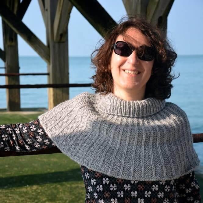 Olethea, un tricot facile et rapide pour se réchauffer les épaules