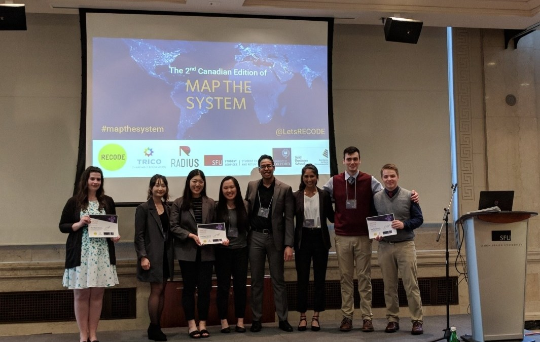 Results of the 2nd Canadian Edition of Map the System 2018