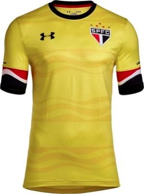 4f9b3102f9e Empresa divulga imagens do novo terceiro uniforme do São Paulo ...