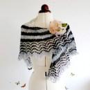 Icelandic Spring shawl It's raining