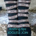 Jogless join at color changes