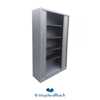 Armoire Grise 198x120 Cm Occasion Tricycle Office