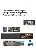 Cover of Cost Estimate Modeling of Transportation Management Plans for Highway Projects