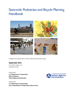 Cover of Statewide Pedestrian and Bicycle Planning Handbook