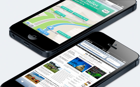 iPhone 5 - from of Apple.