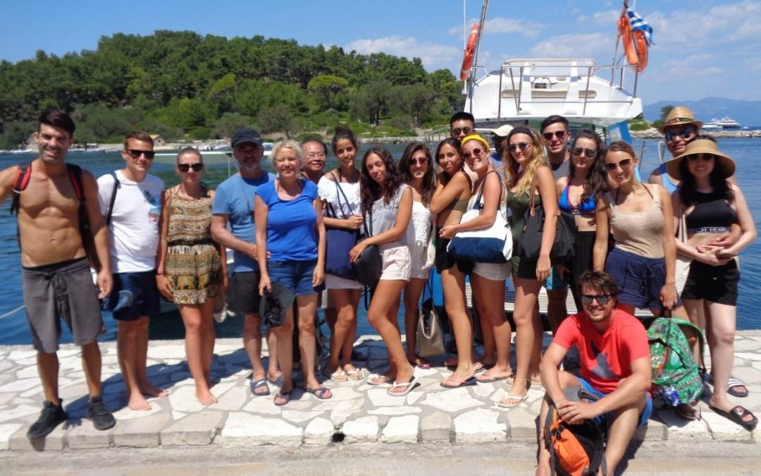 Paxos Morning Cruise 5 8 2018