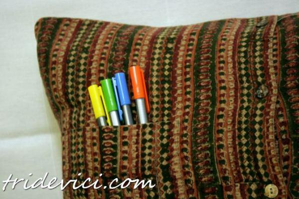 подушка из рубашки (1)