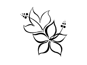 Шаблоны цветов для вырезания