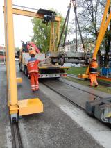 <h5>Verlad der Werkstattrollis</h5><p>Bei den SBB werden die beiden Werkstattrollis die wir erhalten haben verladen und nach Wald transportiert</p>