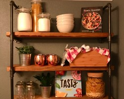 shelves - Weekend Project - Kitchen Storage