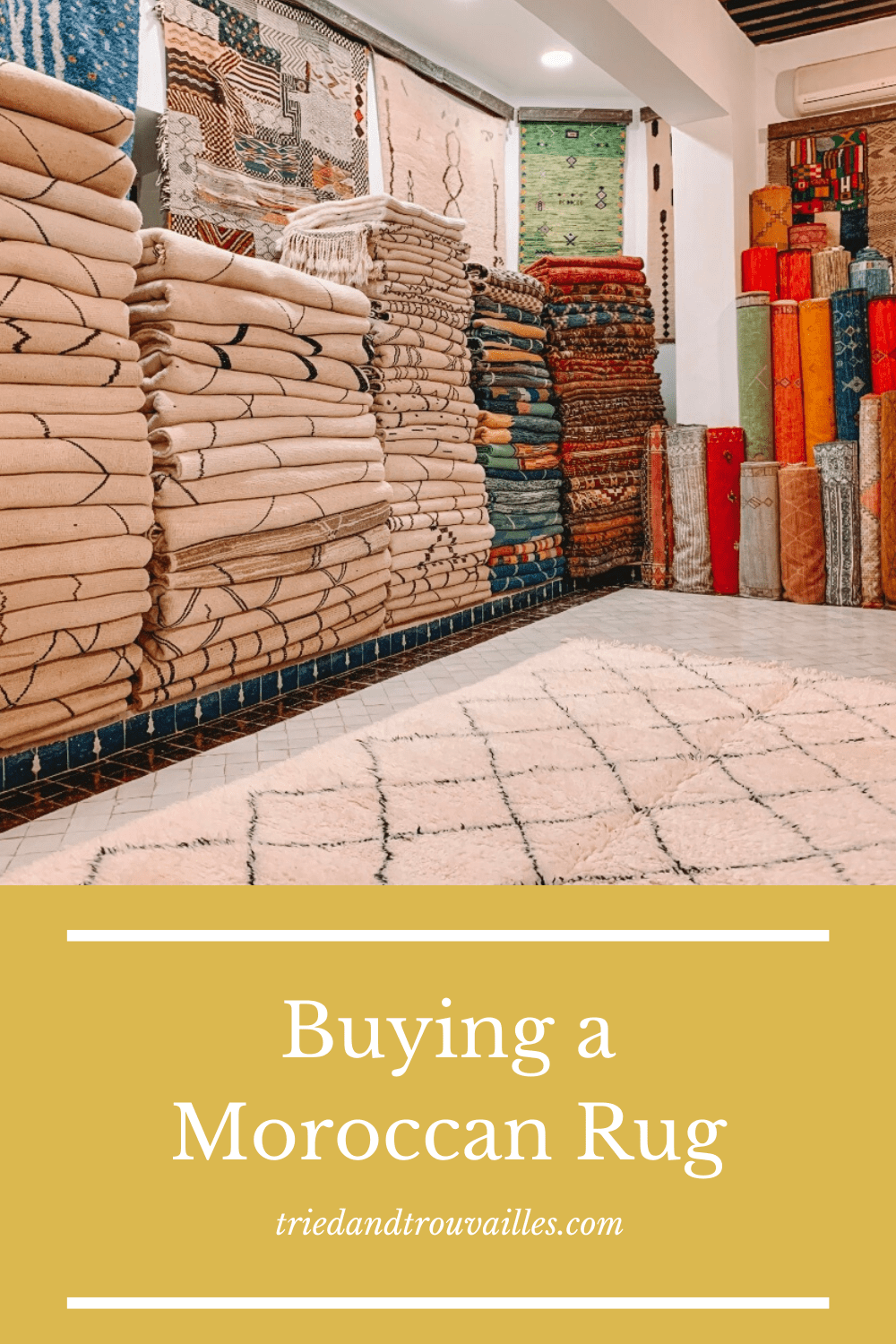 Buying a moroccan rug in marrakech 3 - Buying a Moroccan Rug