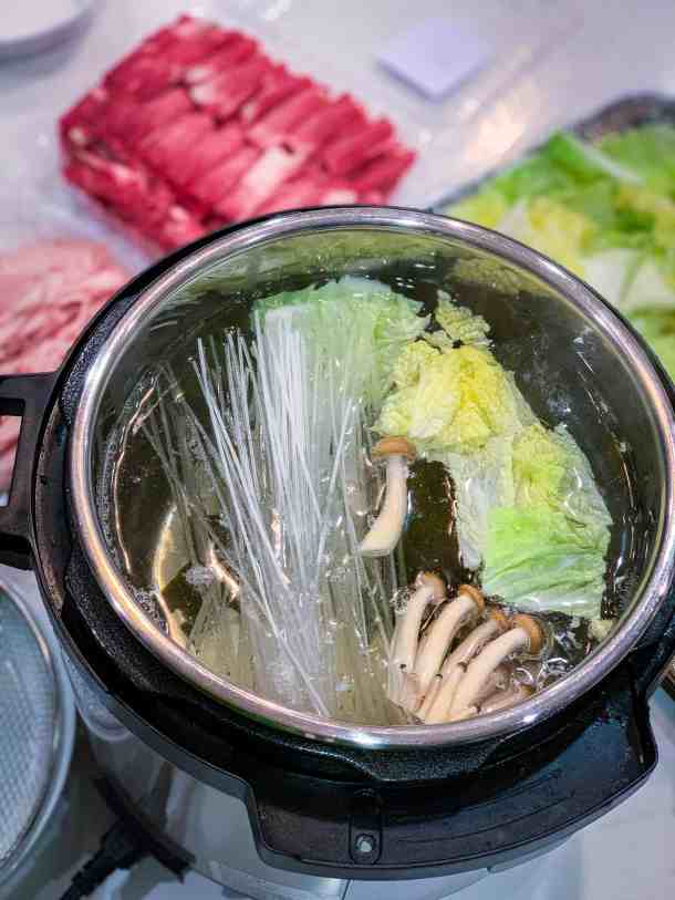 shabu shabu recipe in the instant pot  video  tried