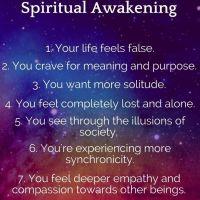 Các dấu hiệu cho biết bạn đang trên con đường tìm kiếm sự thức tỉnh tâm linh (spiritual awakening) và thông điệp cho mọi người