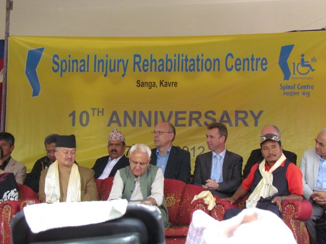 Spinal Injury Rehab Center Program
