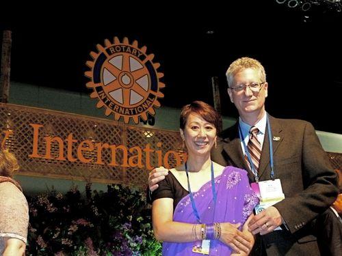 Rob & Gina at RI Convention in Bangkok!
