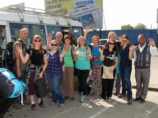 TRIFC Annapurna Circuit Trekkers Arrive in Kathmandu!