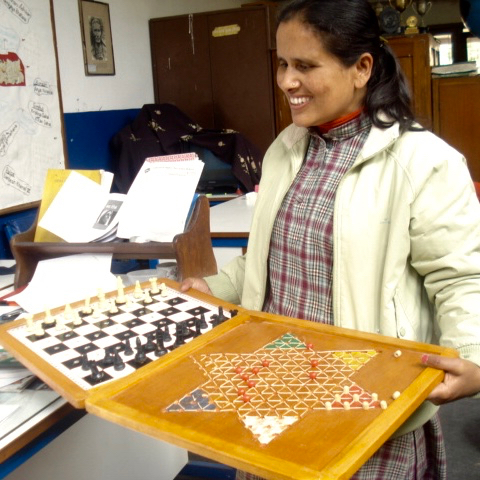 Chess for the Blind/Visually-Impaired and Deaf/Hearing-Impaired
