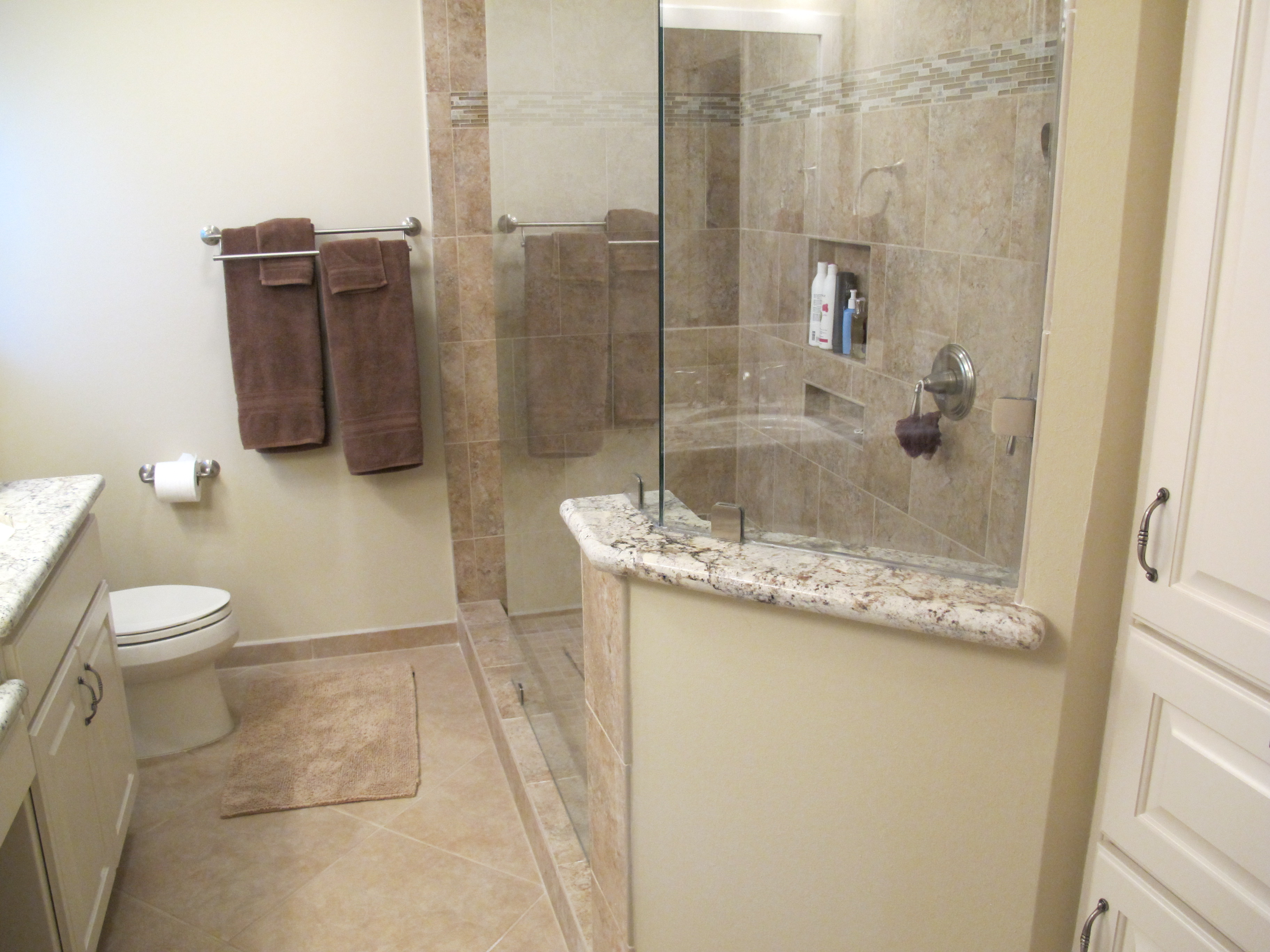 Houston Bathroom Remodeling Bathroom Remodeling To Open Up Spaces Trifection Remodeling