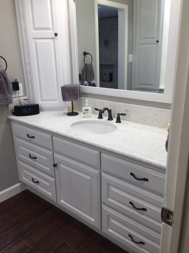 Houston Bathroom Remodeling Hooked On Trifection A Hallway Bathroom Remodel In Northwest