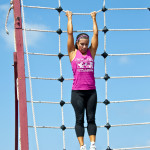 Obstacle Course Cargo net 15 feet - no problem!