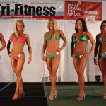 Sexy Fit Bikini Model Athletes at the Tri-Fitness World Championships