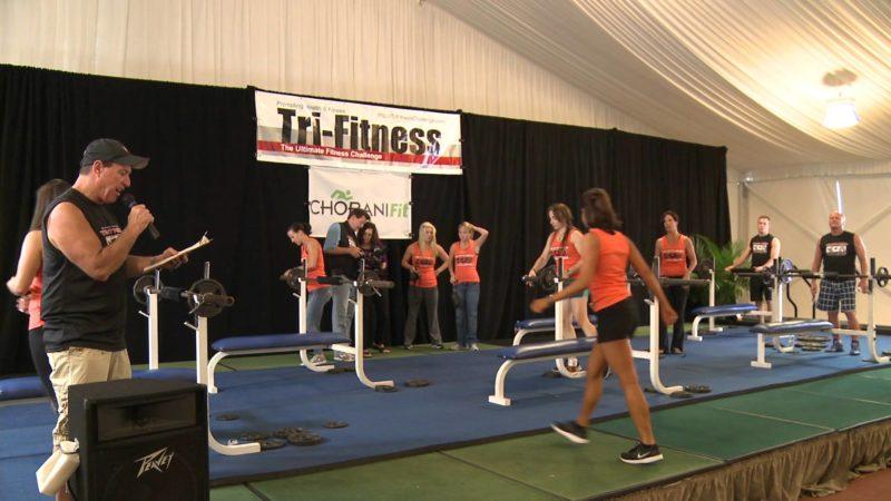 Bench Press @ Tri-Fitness National Challenge 10-22-2011