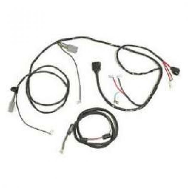 Chevy Headlight, Alternator, With Internal Regulator