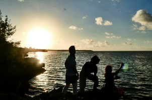 Experience fantastic sunsets and sunrises at Drini Beach by Lisa Javier
