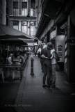 Degreaves St, Melbourne, a boy parting with his waitress girlfriend
