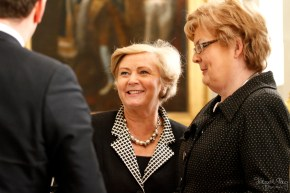 Minister Frances Fitzgerald at the Gaisce 2014 Awards