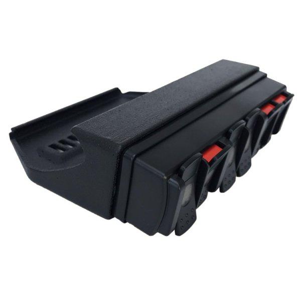 trigger controller jeep JL-JT 6 channel remote mount 2013-6_05