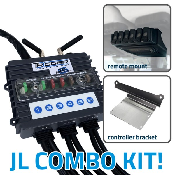 TRIGGER 6 SHOOTER Jeep JL-JT Combo Kit