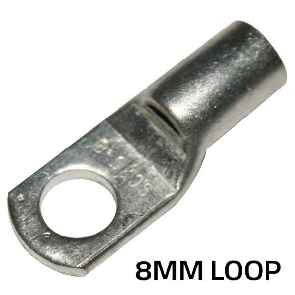 Terminal Loop Ends - 8mm 3AWG