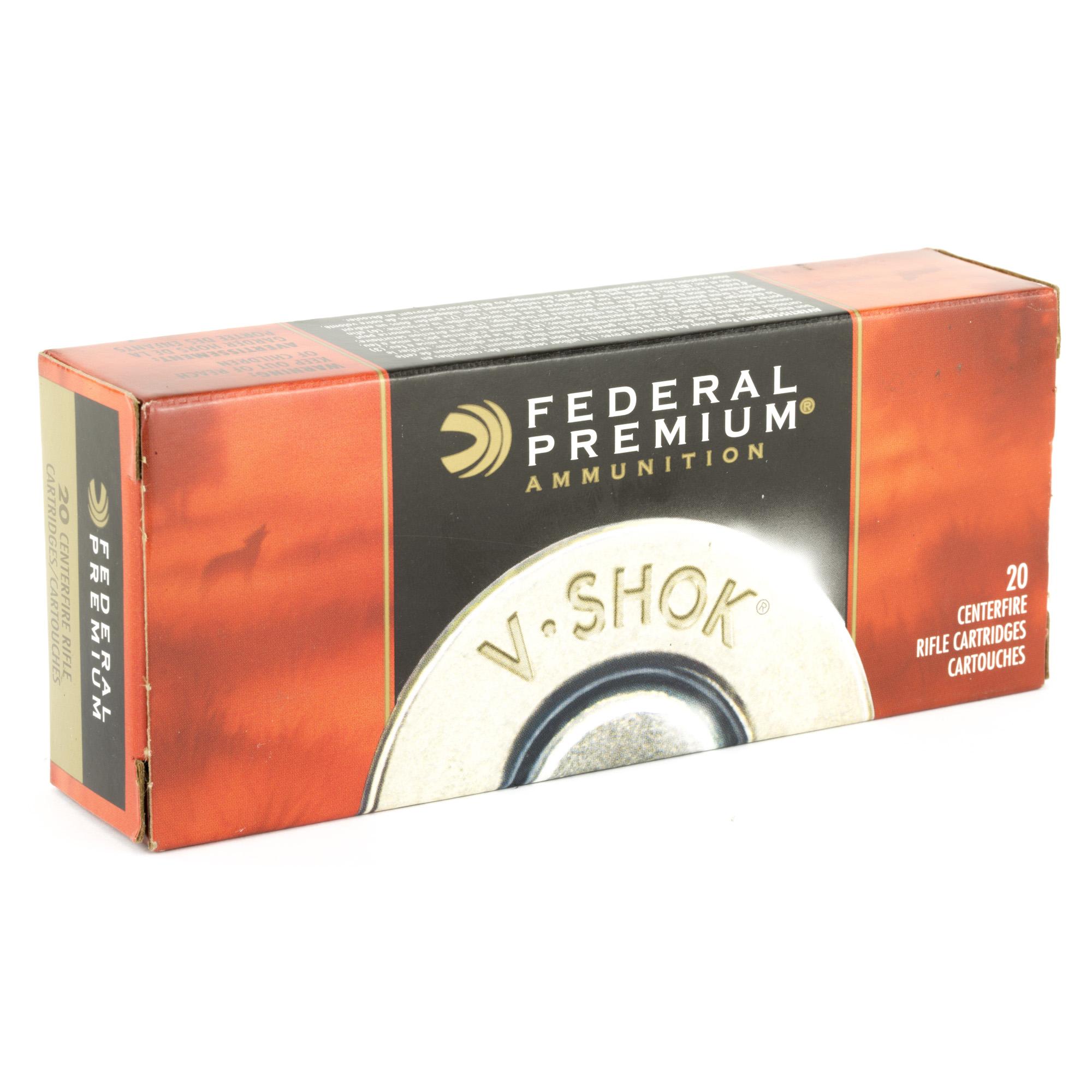 Federal Premium 223 Remington 43gr V-Shock Speer TNT Green 20 Round Box